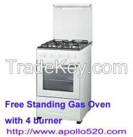 """20"""" Gas Cooking Range with 4 Burners Cooktop"""