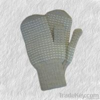Wool double mittens