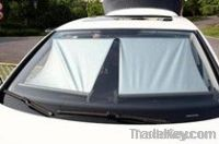 Car Retractable Car Sunshade roller blinds
