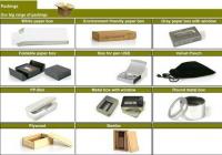 Custom Bamboo USB Flash Drive