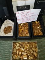 Gold Bars, Gold Nuggets, Gold Sludge, Au Gold Bullion, Raw Gold