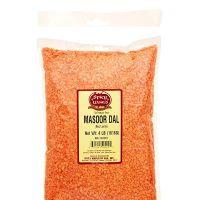 Red lentil. Mung Dal
