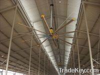 HVLS industrial ceiling fans