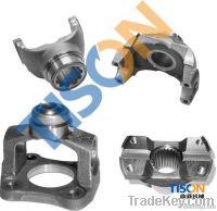 drive shaft end yoke and CV yoke