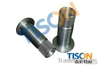 PTO splined bush, sleeve shaft
