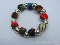 Multicolor Fabric Bracelet