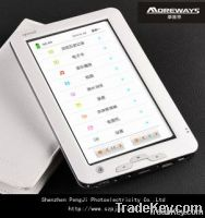 7 inch touch screen tft electric E-book