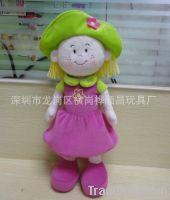 beautiful doll  plush toys