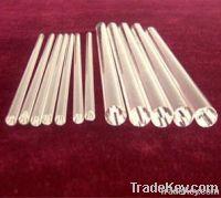 clear quartz glass  rod
