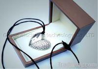 USB Flash Memory Drive crystal Heart-shaped pen drive usb stick