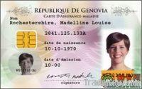 PETG  id card sheet
