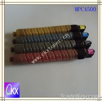 Color toner Cartridge MPC4500 for use in Ricoh MPC3500/MPC4500