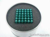 permanent NdFeB magnet balls cube