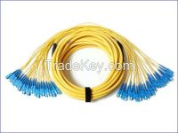 Breakout Fiber optic patch cord