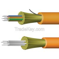 Fiber optic cable-indoor distribution