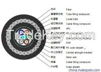 Stranded Loose Tube Single-steel-wire Armored Cable GYTA53+33