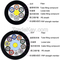 Stranded Loose Tube No-metallic Strength Member No-Armored Cable  GYFTY
