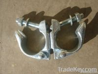 Drop forged scaffolding couplers