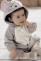 2012 newest baby long sleeve warm lovely anmail rompers