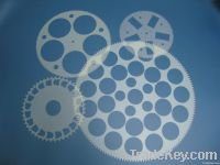 Epoxy lapping carrier