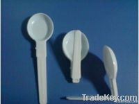 Plastic folding spoon