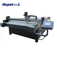 foma lather cardboard CNC oscillating  knife cutting machine