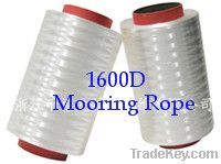 UHMWPE fiber 1600D for mooring rope