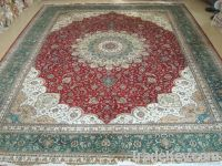 100% Hand knotted Silk Persian Carpets