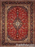 handmade Chinese pure silk carpet, natural silk carpet