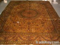 Mulberry silk handmade carpet from China