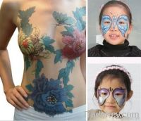 body painting colors