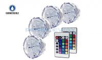 RGB LED submersible accent light,remote LED party lights,LED wedding lights,LNL-002-4