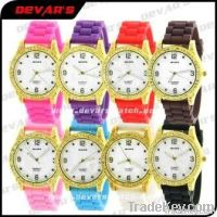 ladies silicone watches