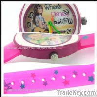 2012  Plastic Kids Cartoon Watch