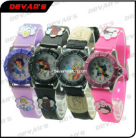 2013 Plastic Kids Cartoon Watch