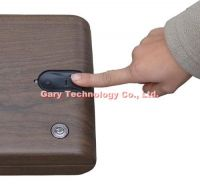 MS100 Jewelry Portable Fingerprint Biometric Mini safe box / Case