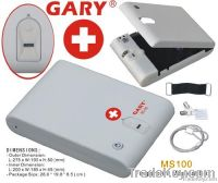 MS100W Handhold Fingerprint Biometric Mini Medical Safe Box / Case
