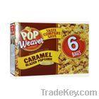 Caramel Glazed Microwave Popcorn 6PACK