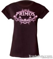 Round-neck and SS T-shirt for Girls