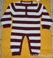 BABY STRIP SUIT