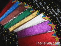 Colored Aluminum Foil Crepe Paper  metallized paper