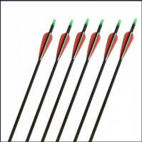 Mix Carbon Arrow 30 Inch Hunting or Targeting Archery Arrow with 3 3 Blade 100 Grain Broadhead
