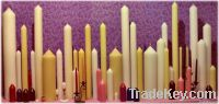 straight candles
