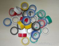 Strong sticky and colors pvc electrical tape