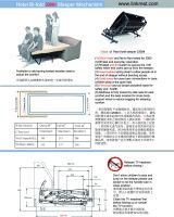 #3300 Hotel Bi-fold sofa bed mechanism