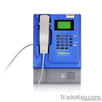 T506: Indoor PSTN/VoIP coin payphone for desktop/kiosk/wall-mounted