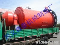 Ball mill for grinding chemicals