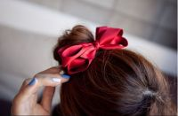 lovely red hairpin