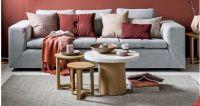 Soffa Set Grey Color