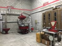 Coffee roaster line machinery - 30 kgs Officine Vittoria , made in Italy